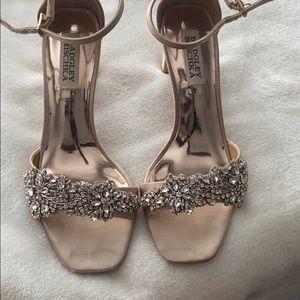 Badgley Mishchka wedding shoes
